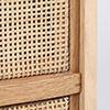 0196 / 扉の表面、枠の内側に削り跡のような小さな凹みが並んでいます。同じ状態が数カ所あります。